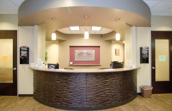 Estrella ENT reception desk